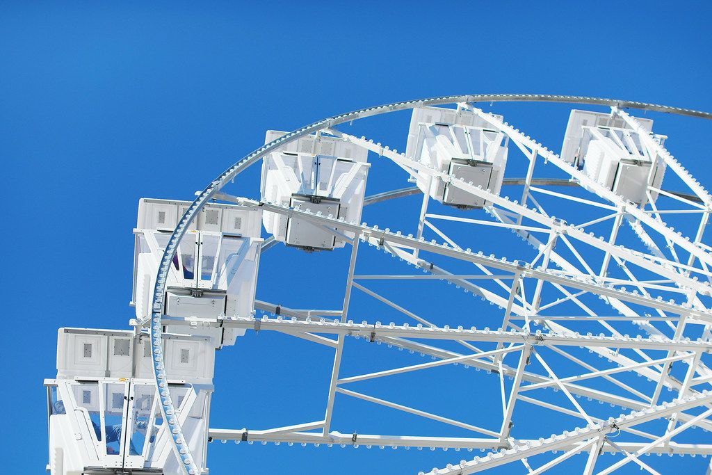 Ferris wheel, close-up view (Flip 2019)