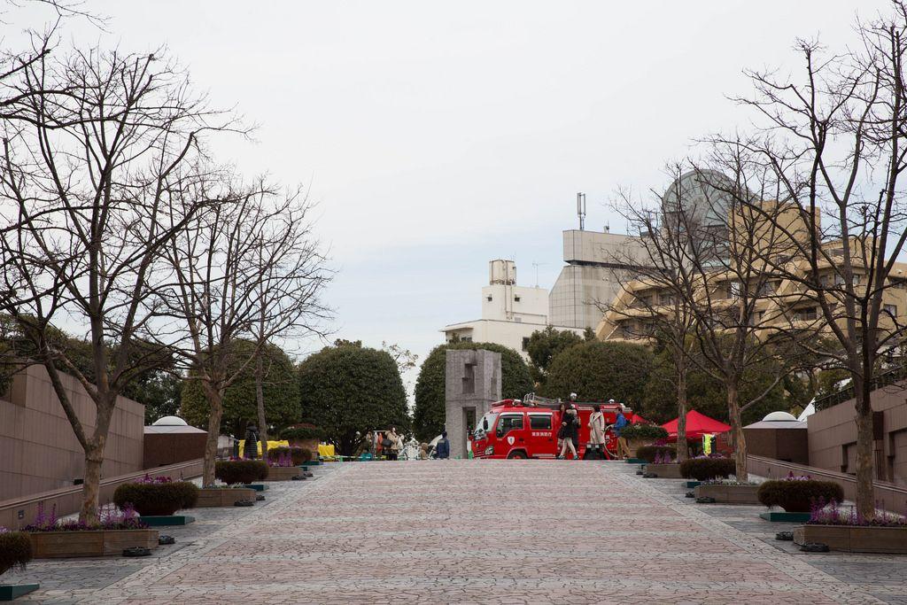Feuerwehr im Einsatz, Tokyo