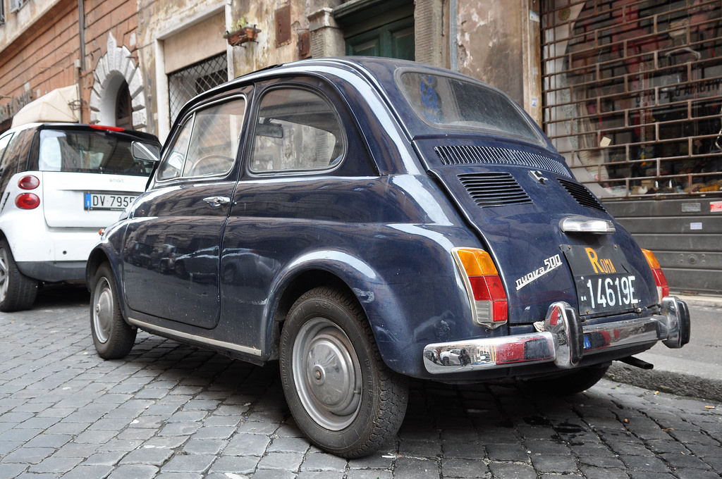 Fiat nuova 500 Roma