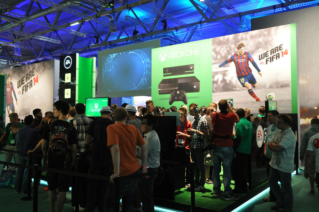 FIFA 14 @ Gamescom @ XBOX One