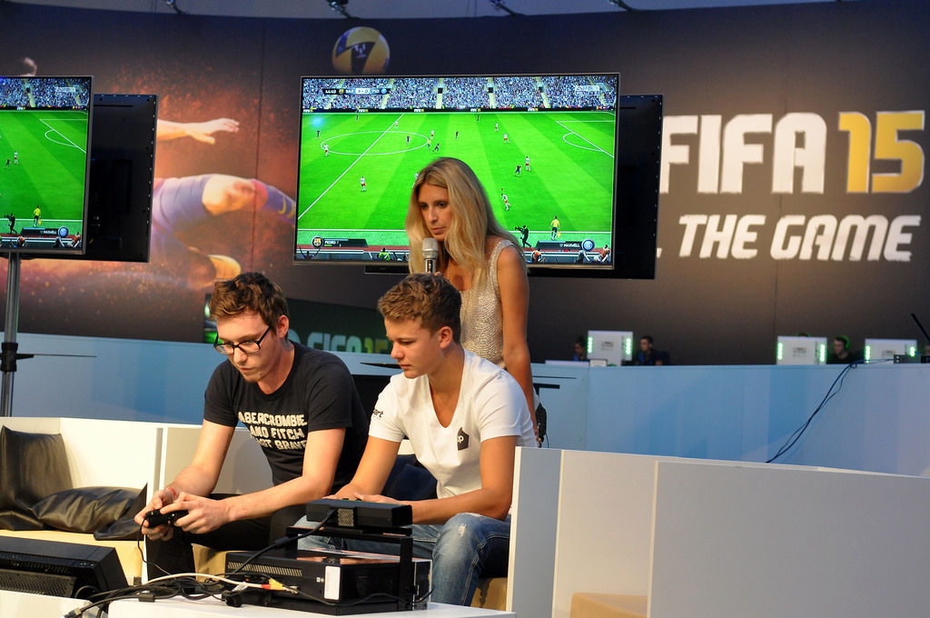 Fifa 15 Showmatch @ Gamescom
