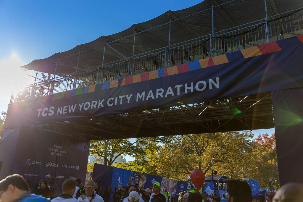 Finish Line NCS New York City Marathon