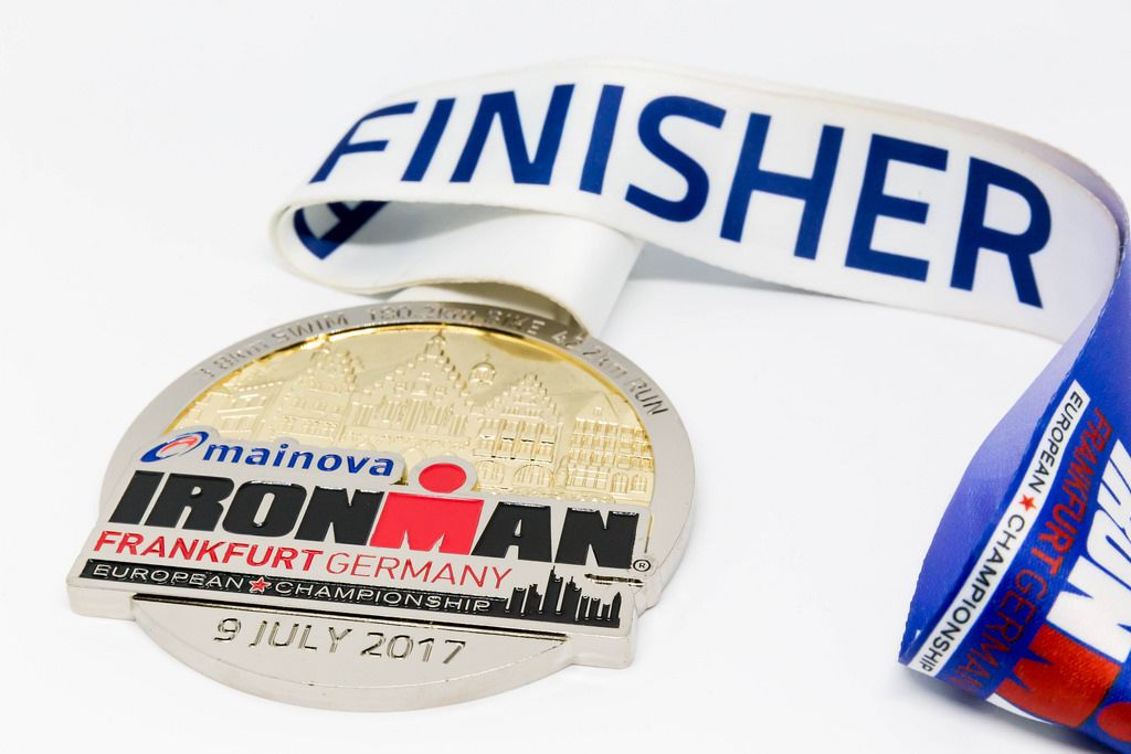 Finisher Medal Ironman Frankfurt 2017