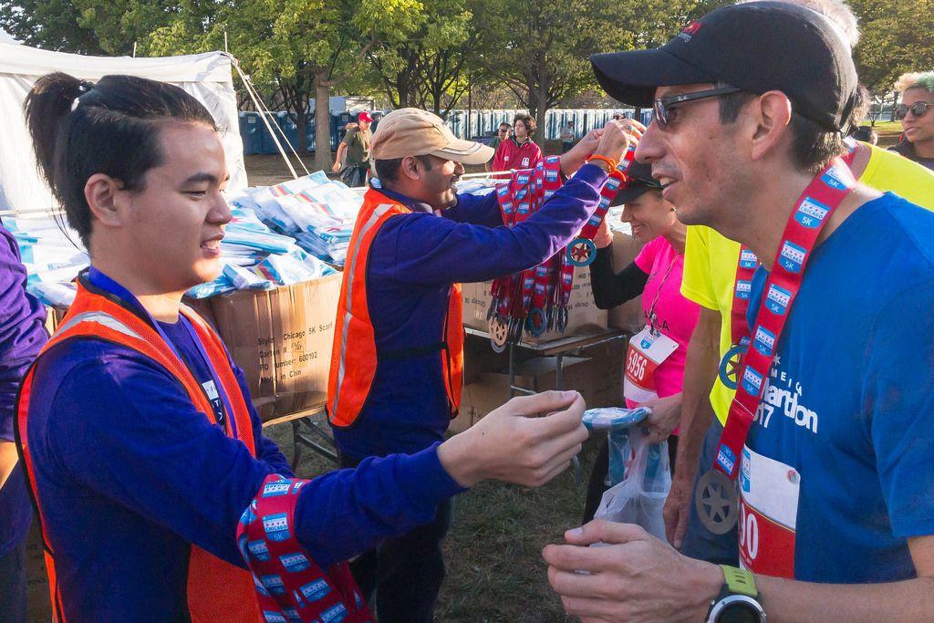 Finisher Medal of Boston 5K