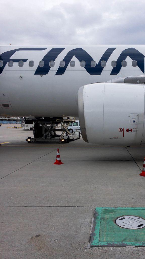 Finnair Plane (Airbus A320)