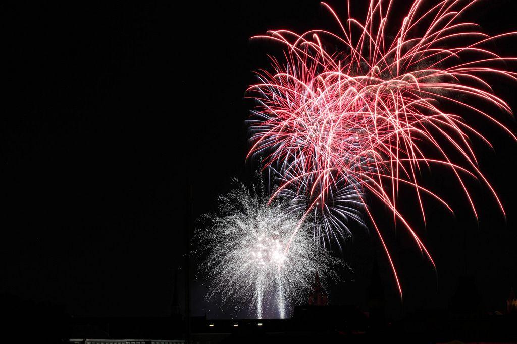 Firework in Belgium