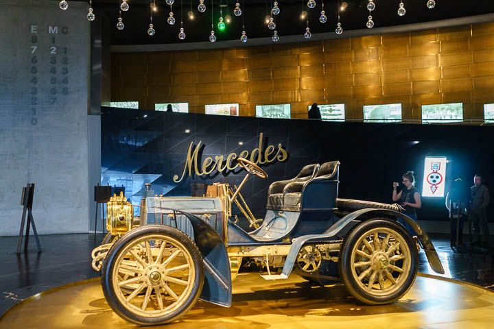 First Mercedes car by Dailmler AG