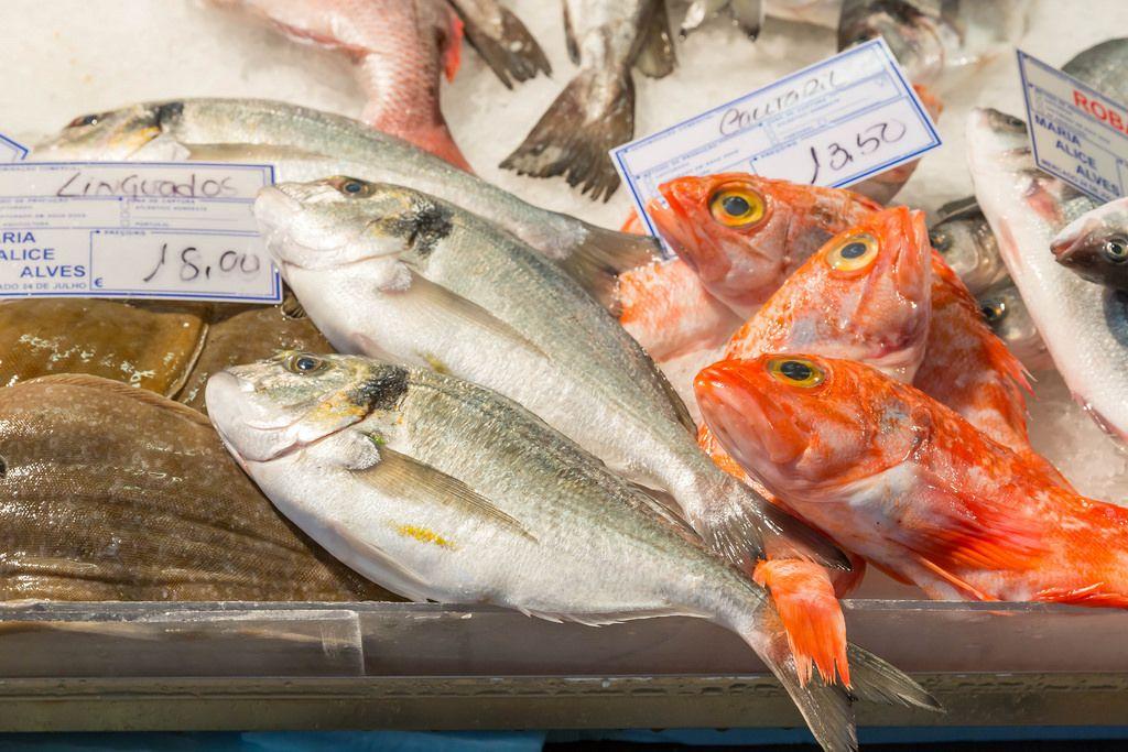 Fischmarkt in Portugal