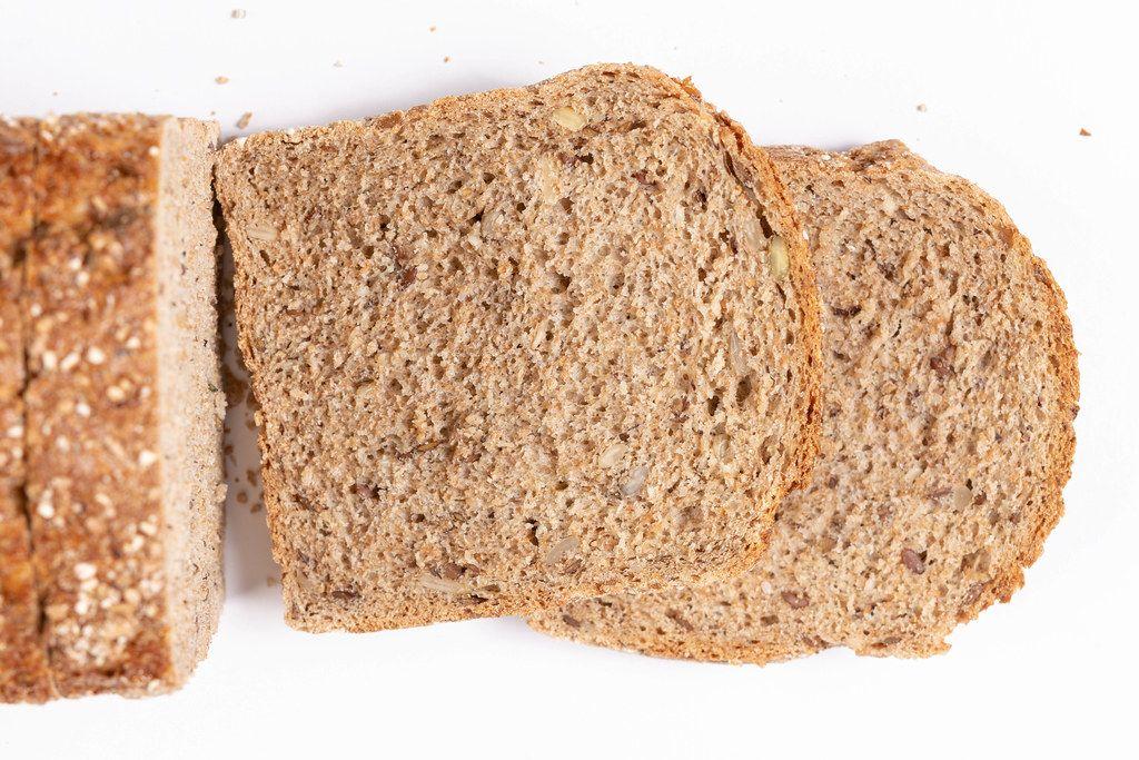 Flat lay above Chrono Bread (Flip 2019)