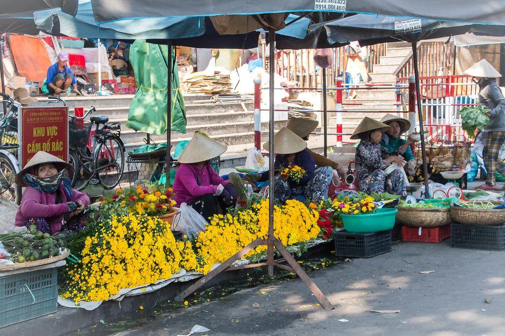 Flower Market in Vietnam