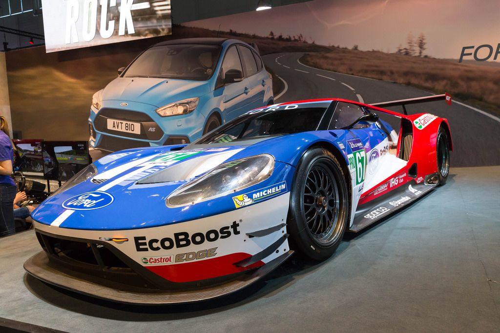Ford Rennwagen - Gamescom 2017, Köln