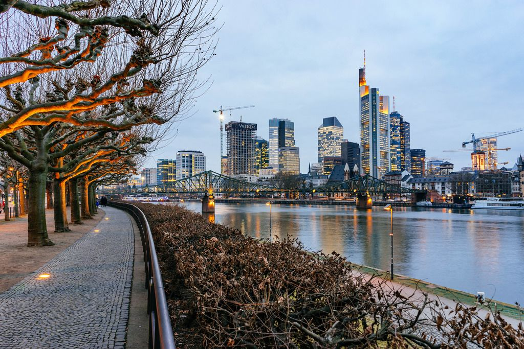 Frankfurt on river Main / Frankfurt am Main