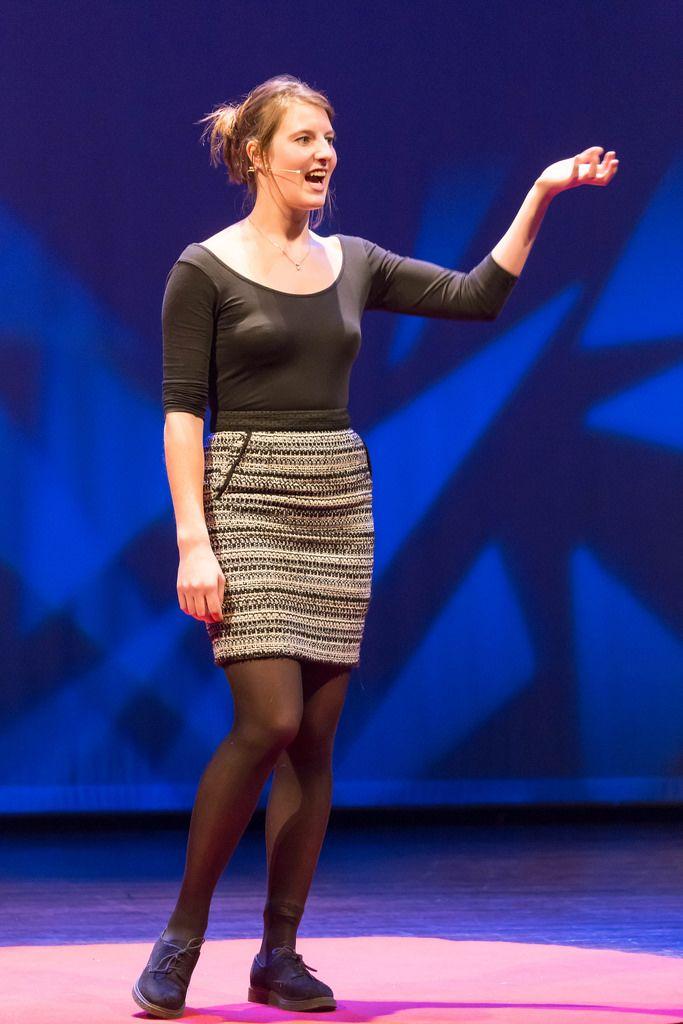 Frankie Dickens bei der TEDxVenlo 2017