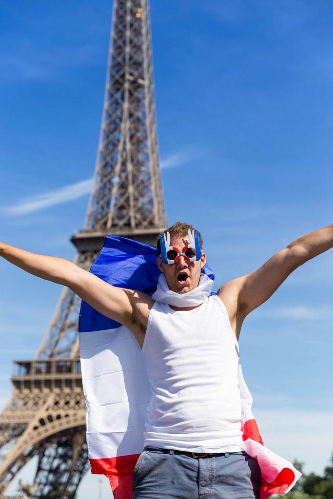 Französischer Fan / French Supporter