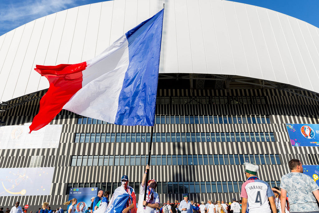 French Supporters at Euro 2016