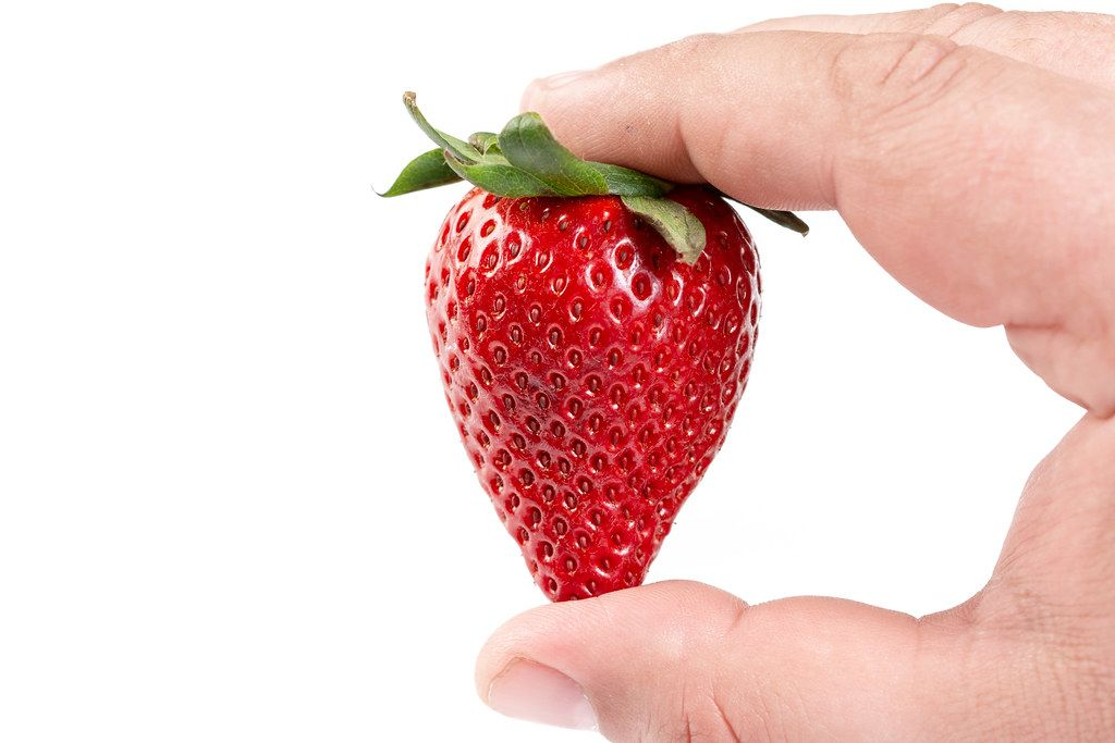 Fresh Red Strawberry in the hand (Flip 2019)