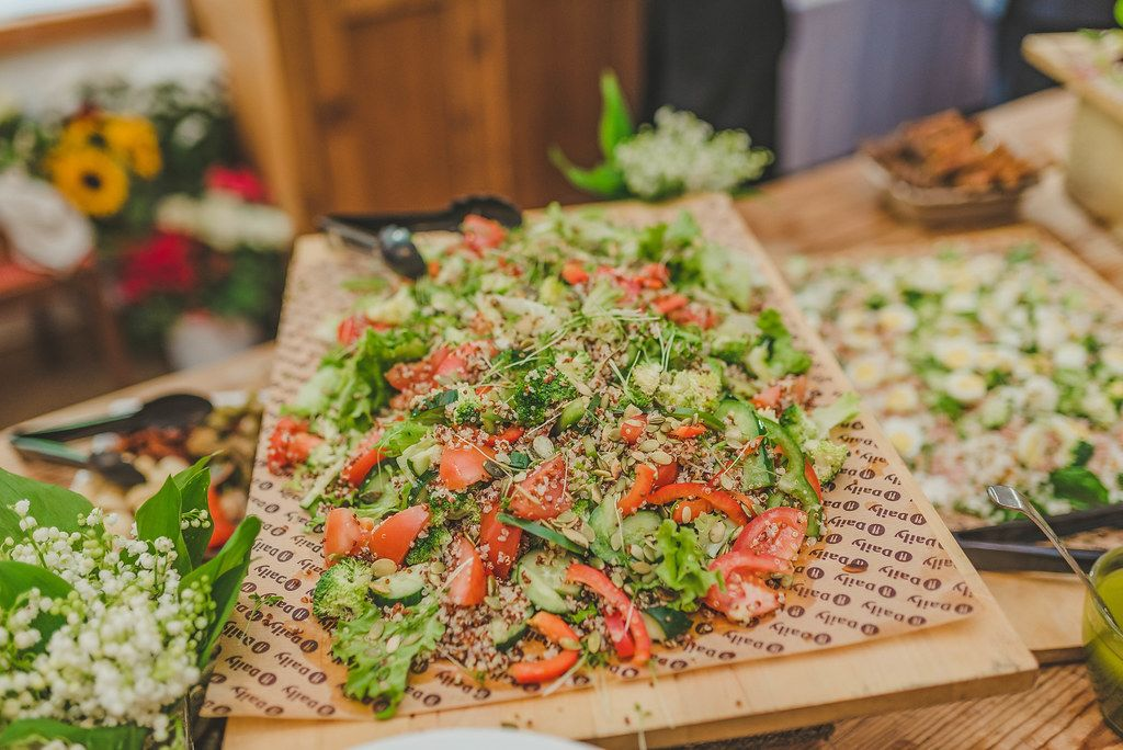 Fresh Tomato Salad With Seeds
