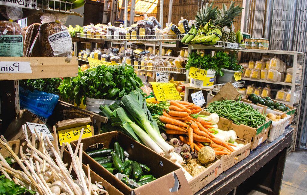 Fresh Vegetable Market Stall  (Flip 2019)