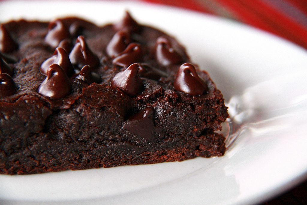 Freshly Baked Chocolate Brownie