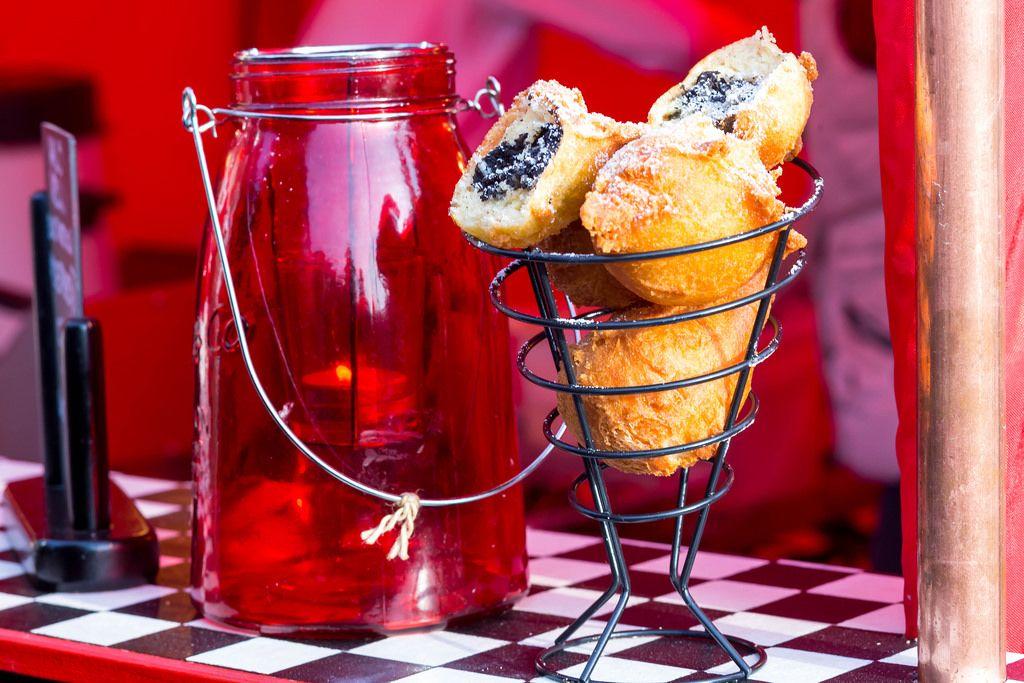 Frittierte Oreo-Kekse