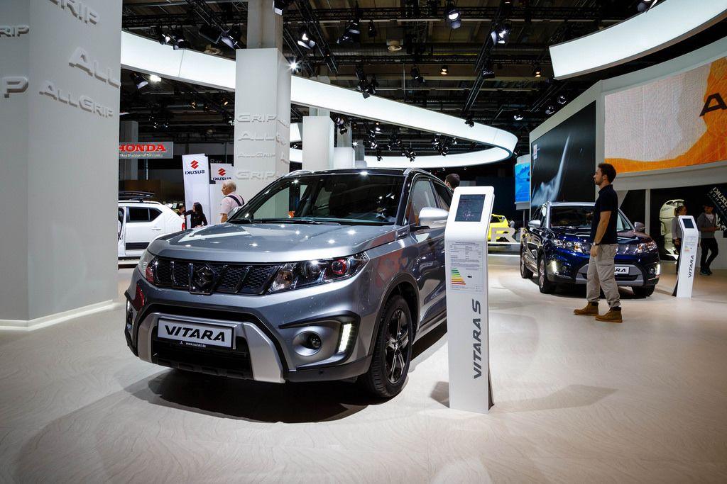 Frontansicht vom Suzuki Vitara S bei der IAA 2017 in Frankfurt am Main