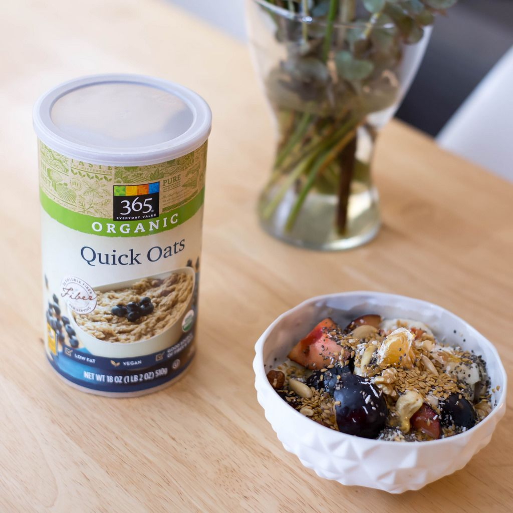 Fruchtsalat mit Bio-Haferflocken von 365 Everyday Value