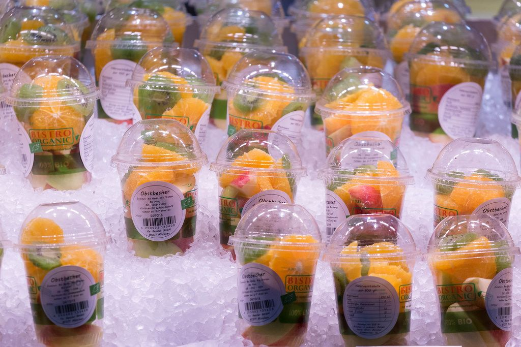 Fruitsnacks kept cold in Ice
