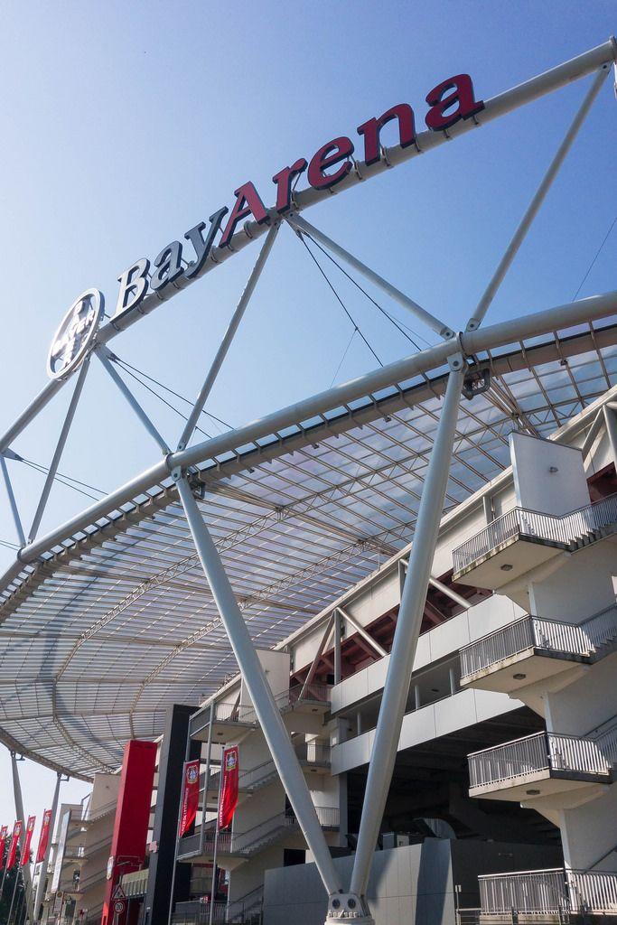 Fußballstadion BayArena von Bayer 04 Leverkusen