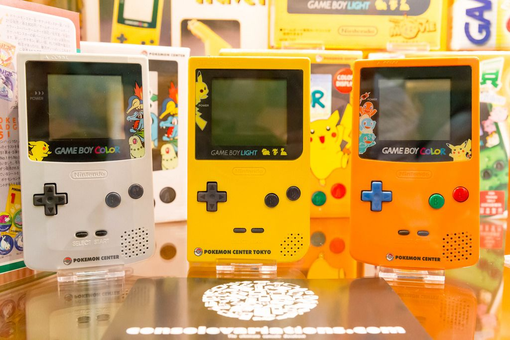 Game Boy Color und Light - Gamescom 2017, Köln