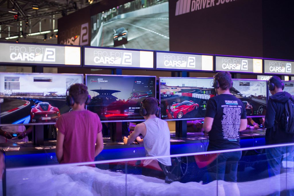 Gamer testen Project CARS 2