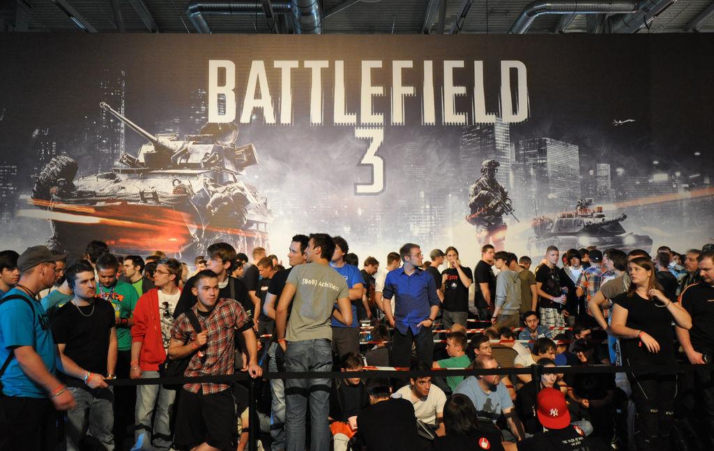 Gamescom 2011: Battlefield-3-Warteschlange