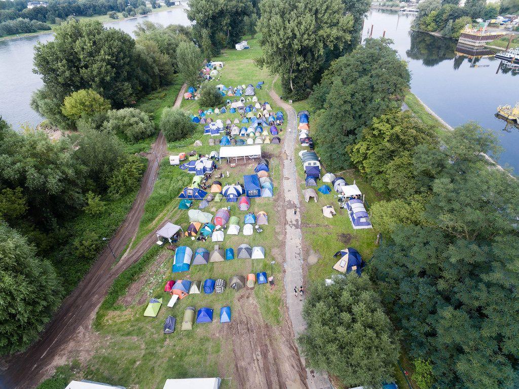 gamescomCamp 2017 im Jugendpark - Gamescom 2017, Köln