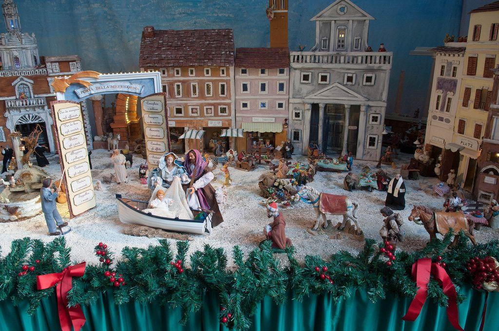 Geburt Christi im Pantheon in Rom, Italien