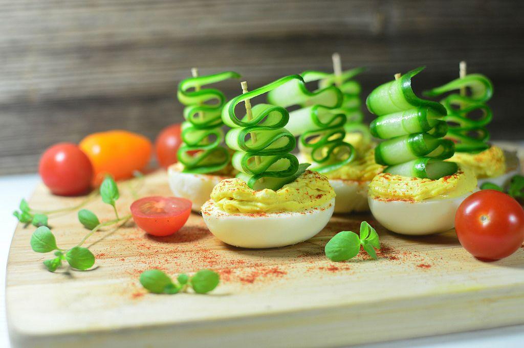 Gefüllte Eier / Stuffed eggs