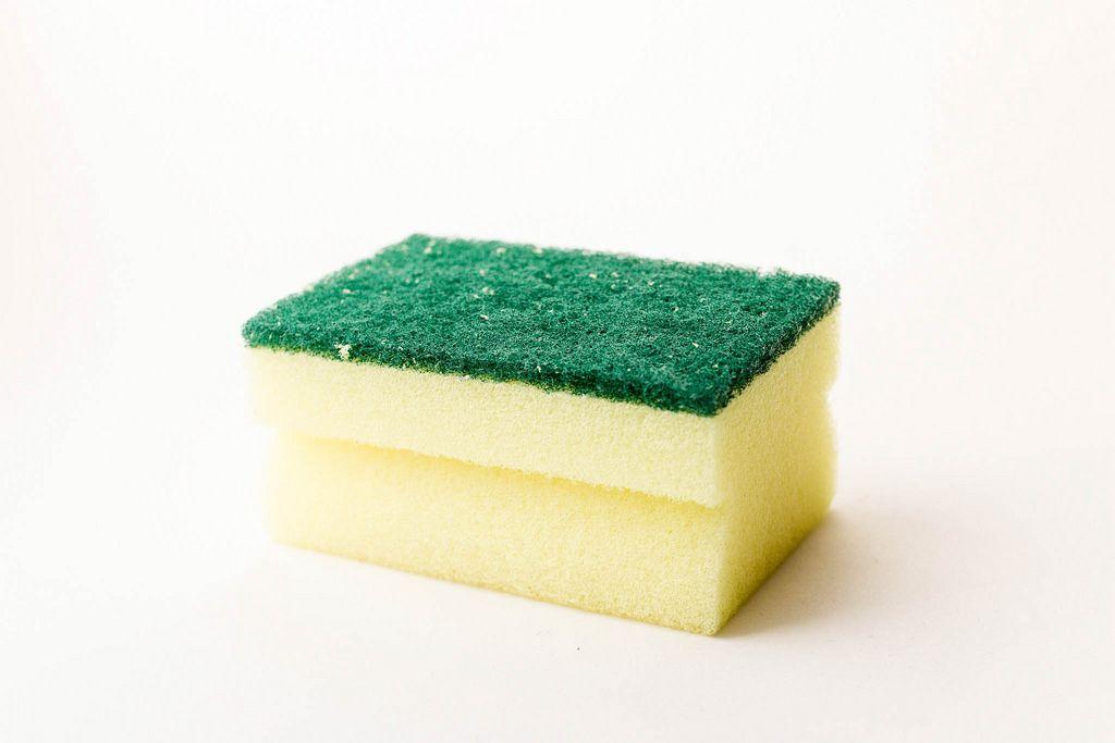 Gelb-grüner Schwamm