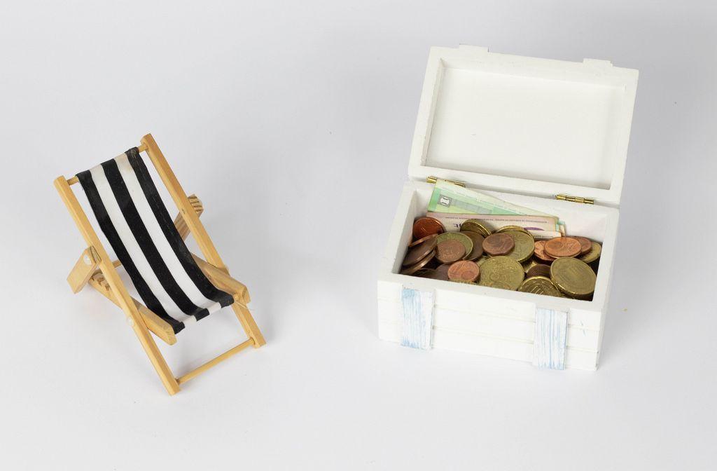 Geld sparen für den Urlaub