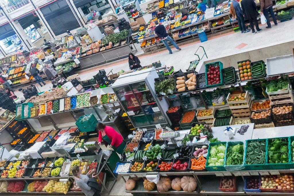 Gemüsehändler / Veggie Market