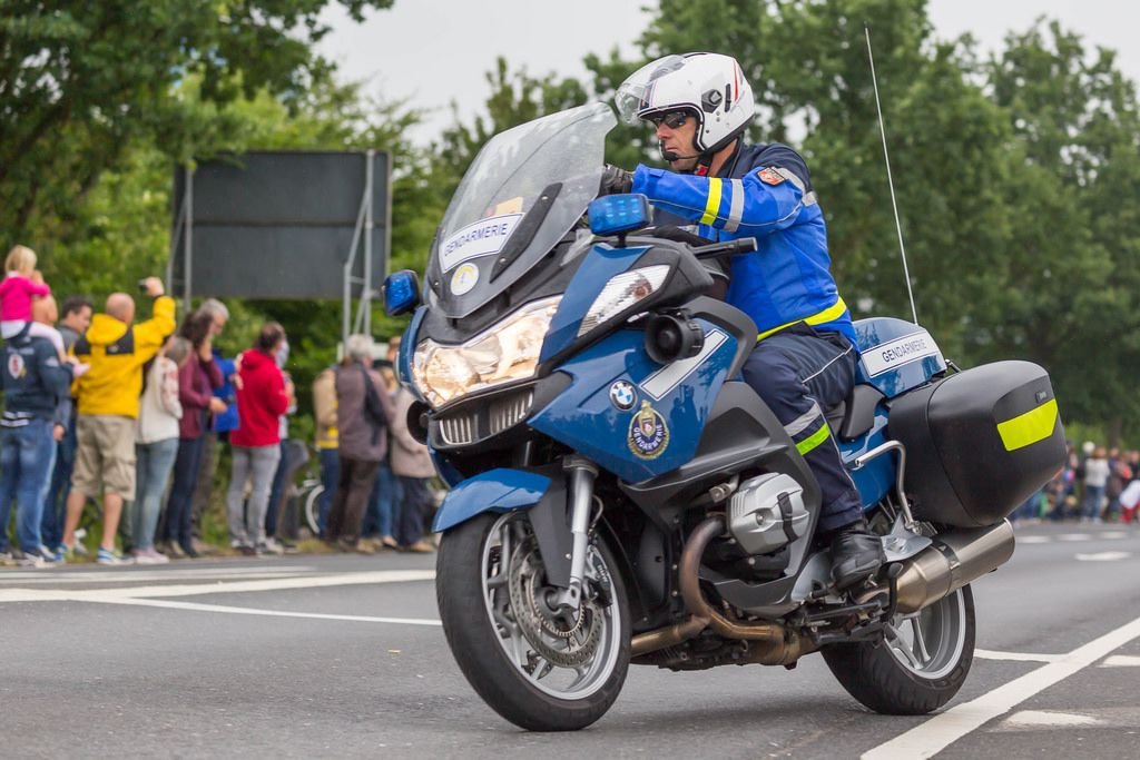 Gendarmerie Motor Bike