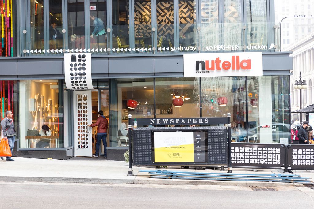 Geschäft von Nutella Ferrero in Chicago