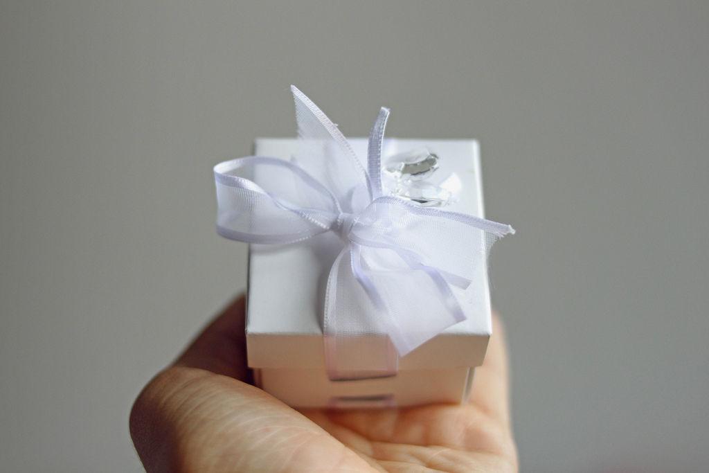 Geschenkbox für Schmuck / Heiratsantrag