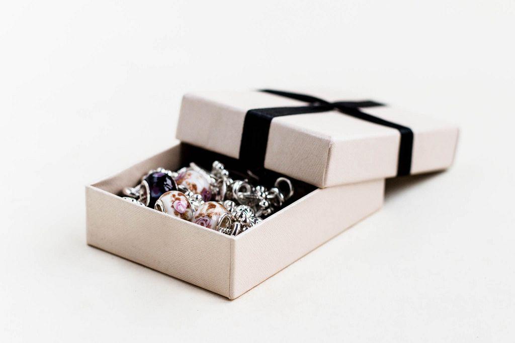 Geschenkbox mit Schmuck