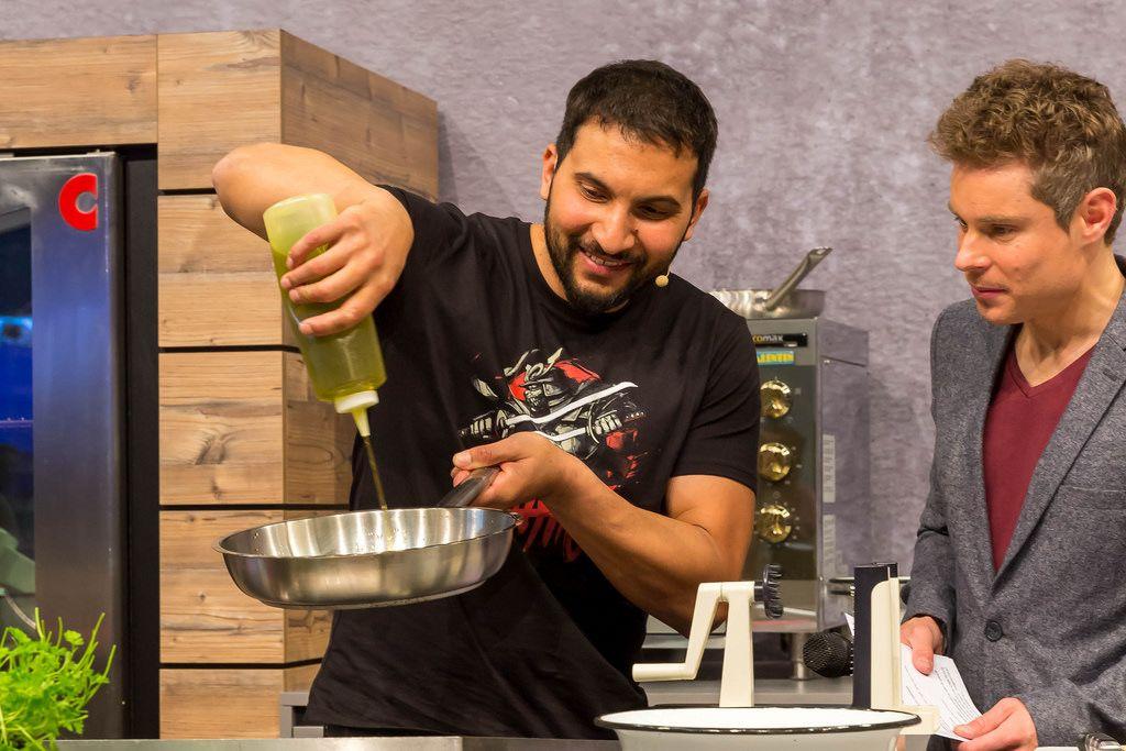 Gesundes Kochen mit Attila Hildmann
