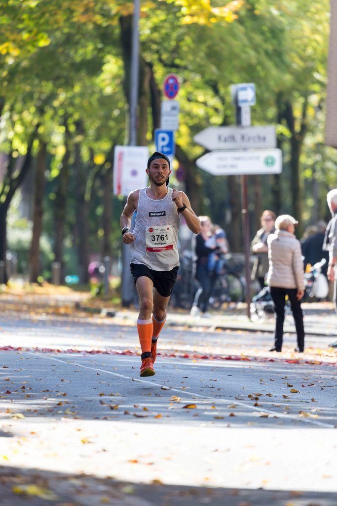 Gillen Philippe gibt Gas - Cologne Marathon 2017