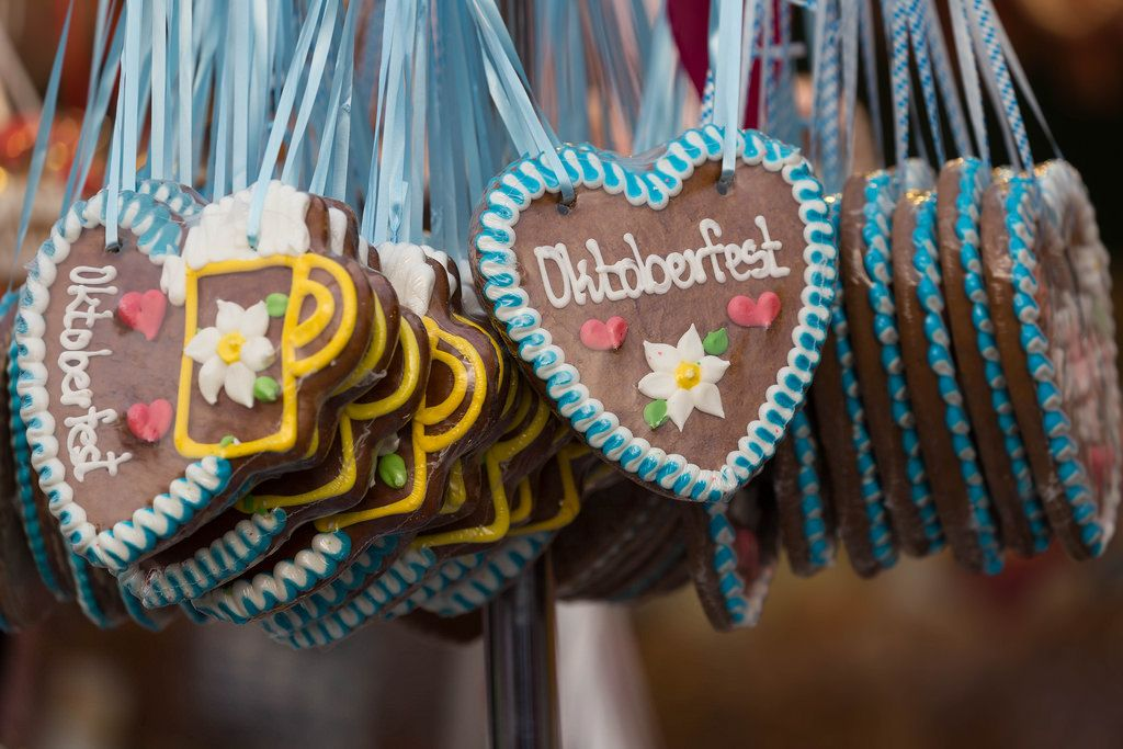 Gingerbread hearts - Oktoberfest 2017