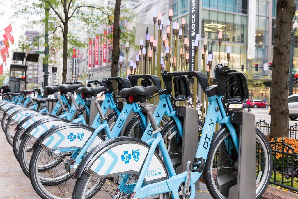 Go with Blue Leihräder in Chicago