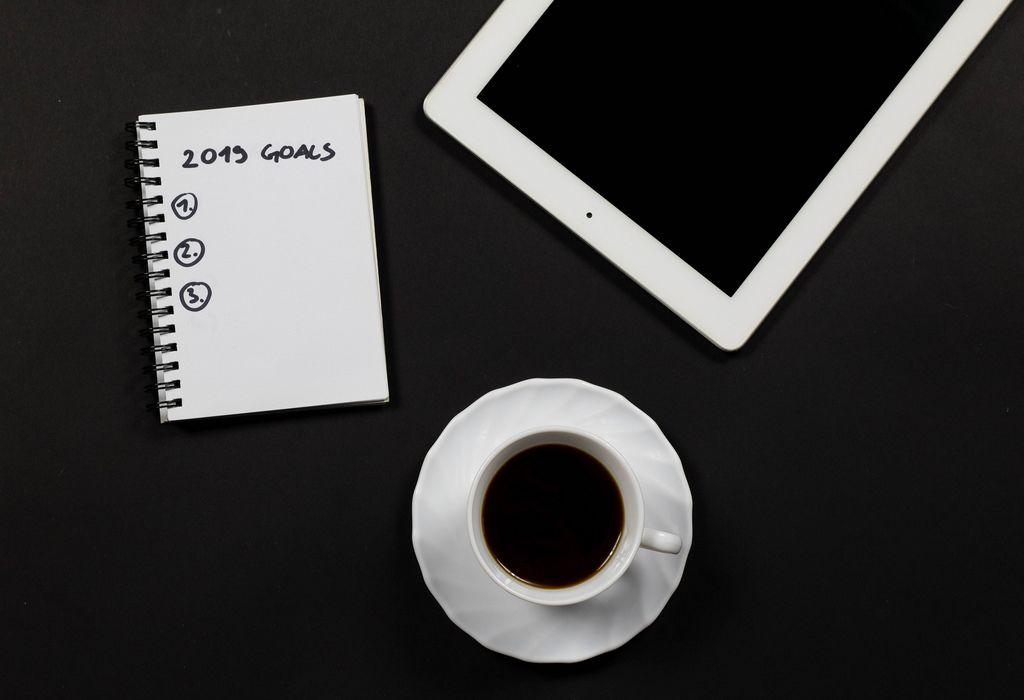 Goals 2019 business concept