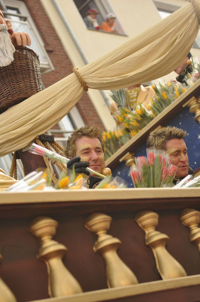 Golden Boys am Rosenmontagszug 2012