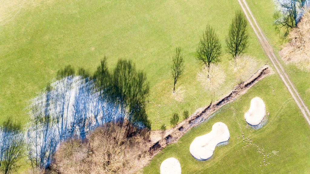 Golfclub Pforzheim aus der Vogelperspektive