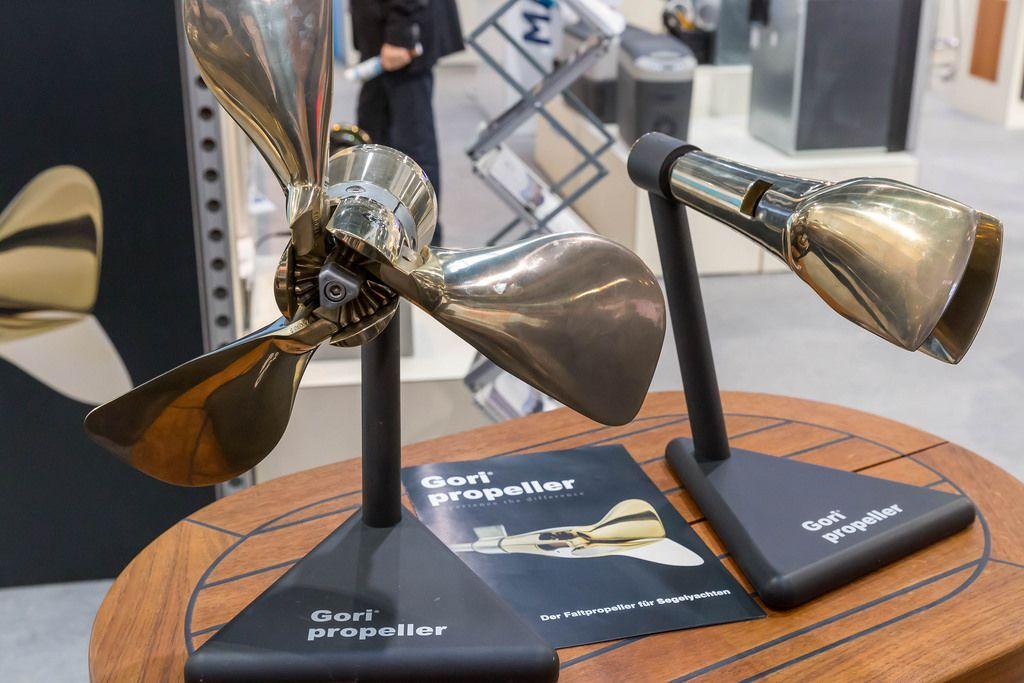 Gori propeller: Der Faltproeppeler für Segelyachten