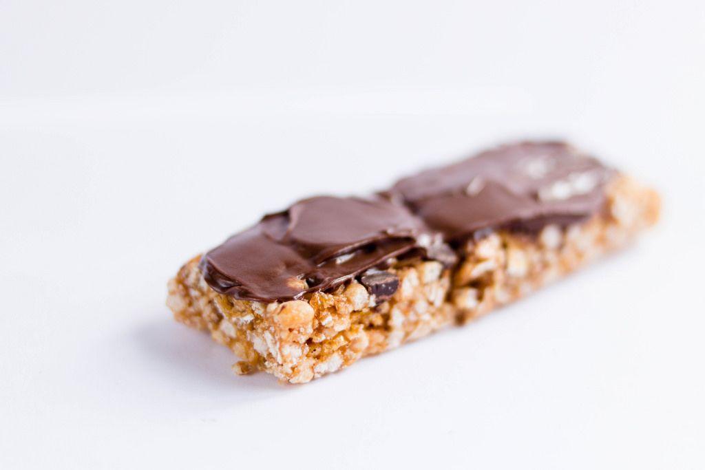 Granola Bar with Chocolate